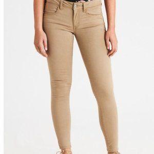 💎 H&M Slimfit Khaki Skinny Pants  | Size 10
